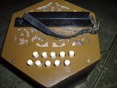 Chromatic Concertina Stahltone